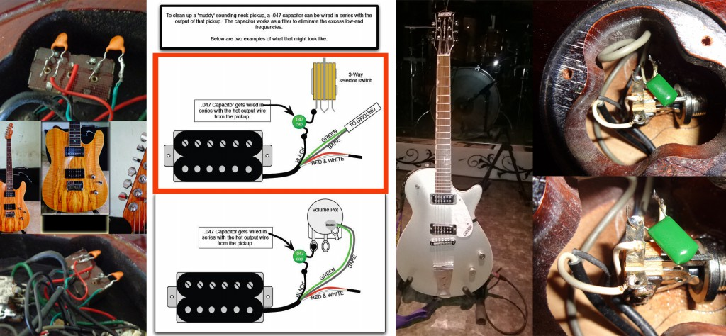 Muddy Pickups Mods with Caps - The Guitar Learner